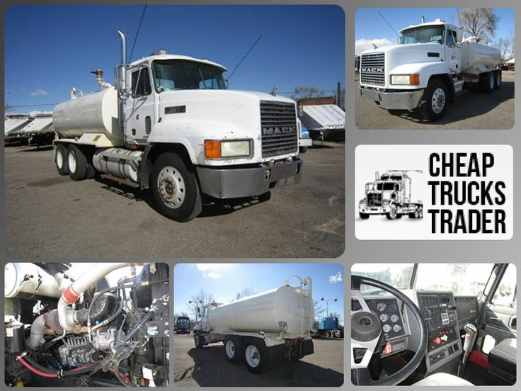 This Cheap Used 1997 #Mack Ch613 #Heavy_Duty_Truck is available with good Sheet metal, fair paint, chipped glass, Radio, air conditioning, single vertical exhaust, 1) 150 gallon aluminum fuel Tank, Front tires are at 70% rubber, rears are 70% caps, brakes at 75%, 15' 4000 gallon tank, hydraulic driven pump, 2) air operated rear spray heads, top left spray head, hose reel, New Berkley pump and much more. You can get amazing Deal on this Mack Truck in Fort Collins, CO, USA at…