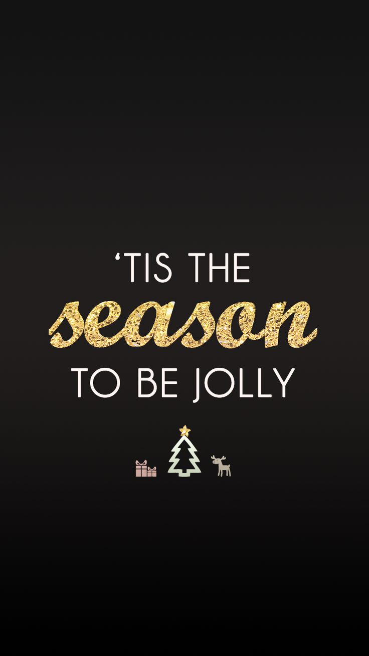 This is the season to be jolly ★ Find more Seasonal wallpapers for your #iPhone + #Android @prettywallpaper