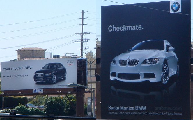 BMW - Check mate Audi