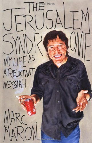 The Jerusalem Syndrome: My Life as a Reluctant Messiah by Marc Maron http://www.amazon.com/dp/0767908104/ref=cm_sw_r_pi_dp_-2aRub1WC8JD5