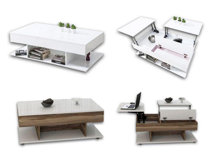 Konferenční stolek CAZIBE 2. Tento konferenční stolek okouzlí dostatkem úložného prostoru stejně jako jemu podobný CAZIBE 1. Originálním provedení Vám zaručí jednak dostatek pohodlného místa pro Vaše notebooky a další elektroniku, ale také úložné...