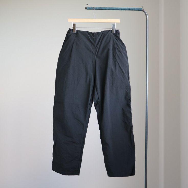 TEATORA - Index Pants [packable] #black 「着楽(チャクラ/ciacura)」 三重県四日市市で洋服と器を販売