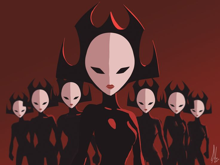 The Daughters of Aku by Raikoh-illust