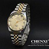 Amazon Angebote Herrenuhren Schöne Uhren, Elegantes Design Kleid chenxi® Herrenuhren japanische Quarzwasserdicht Stahlband%#Quickberater%