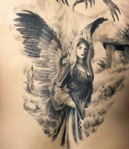 166 besten anioly bilder auf pinterest engelchen schutzengel und tattoo ideen. Black Bedroom Furniture Sets. Home Design Ideas