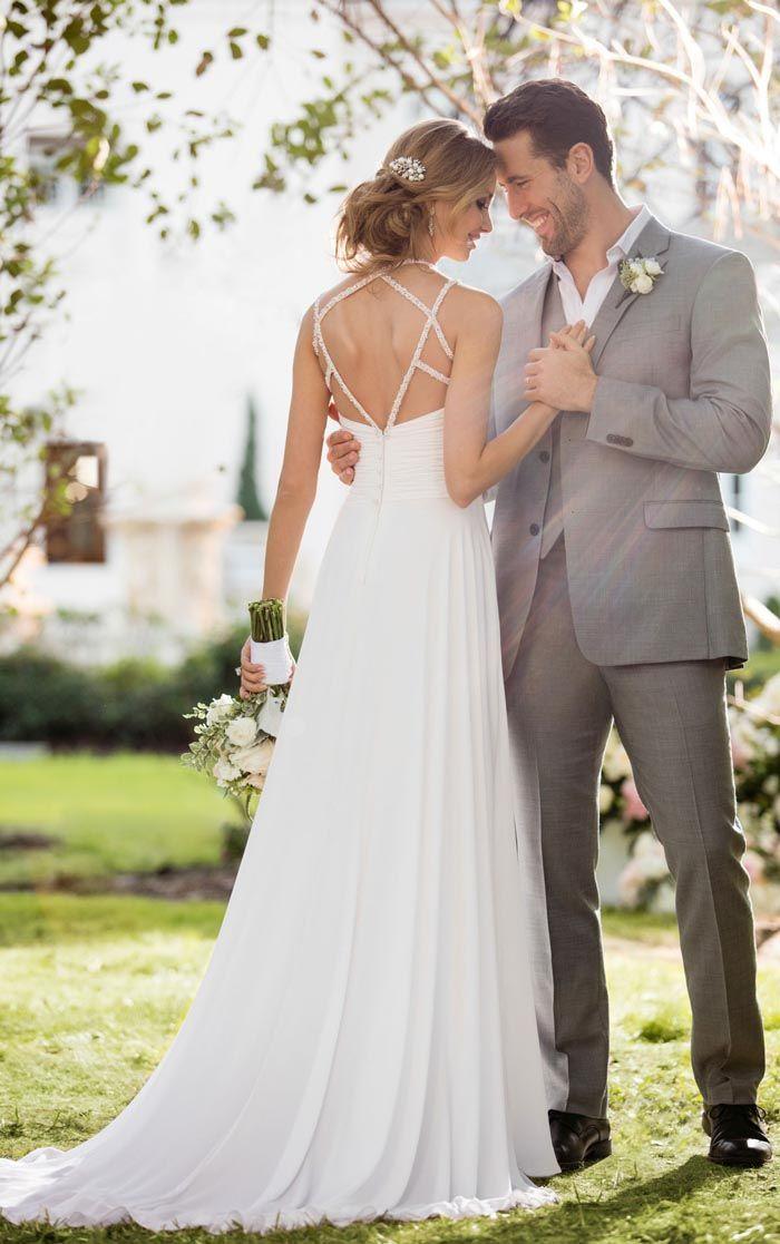 Flowy And Romantic Beach Wedding Dresses By Essense Of Australia