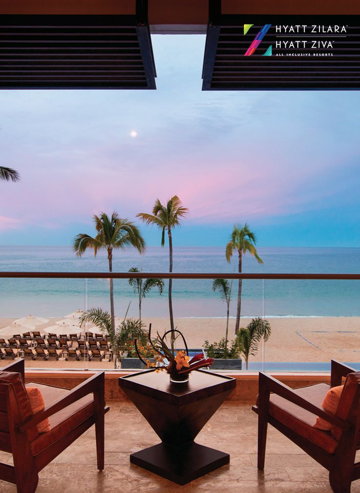 End the perfect vacation day by lounging with a breathtaking Mexican sunset view at Hyatt Ziva Puerto Vallarta.
