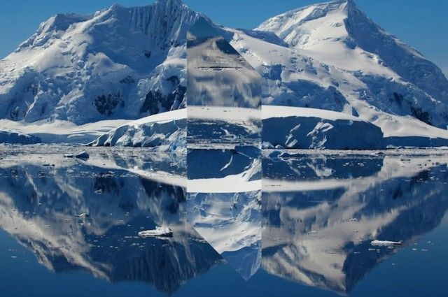 Landscapes Distorted with Geometric Fragments8
