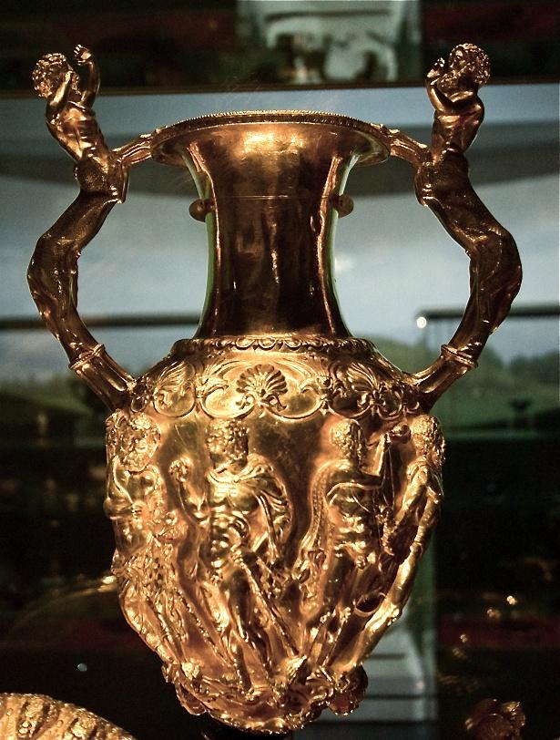 Thracian gold urn, Bulgaria, ca. 4th-3rd B.C.