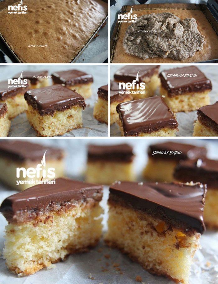 Çikolatalı Fındıklı Kareler