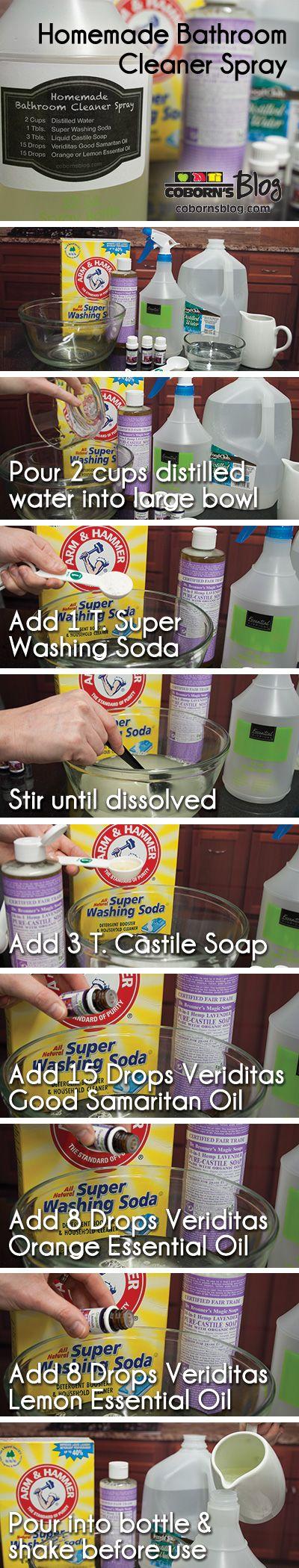 Make bathroom cleaner - Best 25 Homemade Bathroom Cleaner Ideas On Pinterest Vinegar Cleaning Solution Natural Cleaning Solutions And Floor Cleaner Vinegar