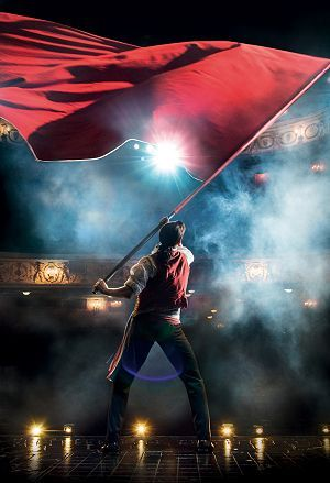 LES MISÉRABLES 30th Anniversary Postcards. Michael Colbourne as 'Enjolras'.