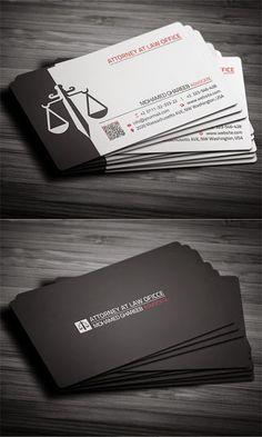 Ejemplos de tarjetas de presentación para abogados