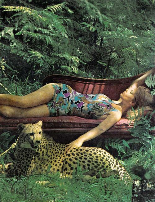 Photo by Helmut Newton, 1966