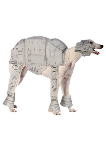 AT-AT Imperial Walker Pet Costume. Oh My Star Wars!!! This is fantastic!!!