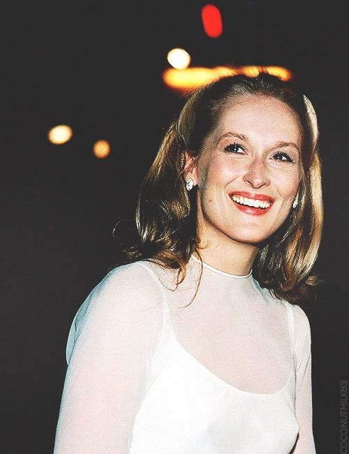One thing I'd like to ask Don Gummer; how can someone marry Meryl Streep? Like, I'm really interested :P