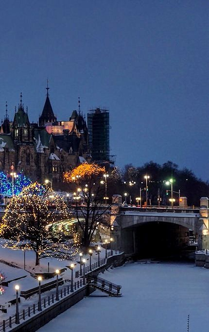 Ottawa at Christmas time, Canada | by beyondhue
