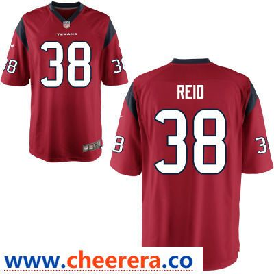 6510fe4c2 Men s Houston Texans  38 Justin Reid Red Alternate Stitched NFL Nike Game  Jersey Nfl Houston