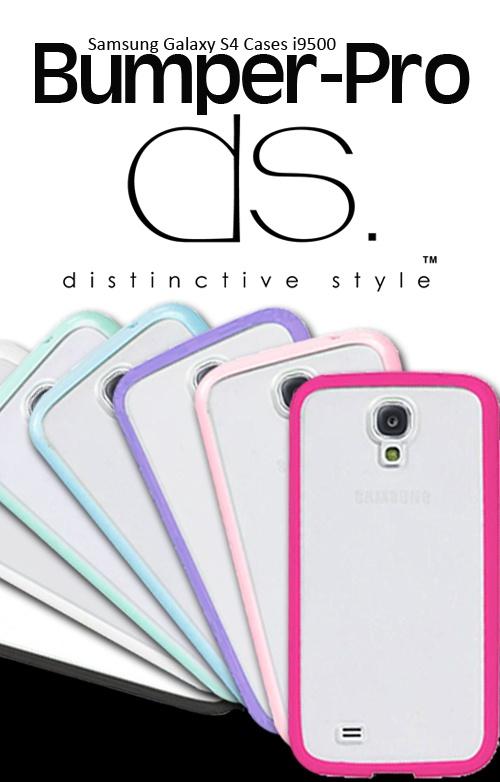 Bumper-Pro Series Samsung Galaxy S4 Cases $23.32 http://www.dsstyles.com/samsung-galaxy-s4-cases/bumper-pro-series.html