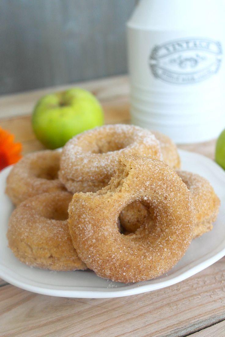 Rezept für Apfel Zimt Donuts-In Kooperation mit Kölln