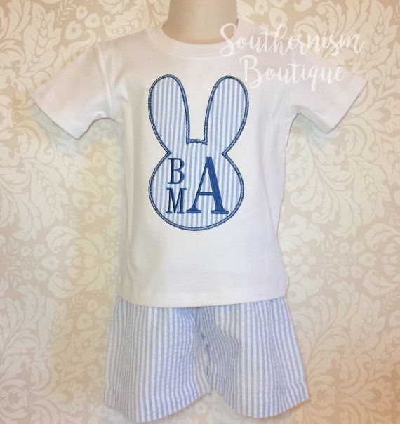 Easter Outfit Boys Easter Shirt and shorts by SouthernismBoutique