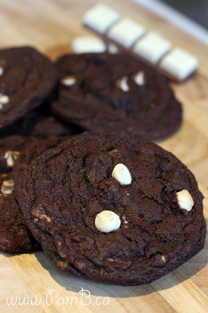 Cookies de Chocolate Triplo