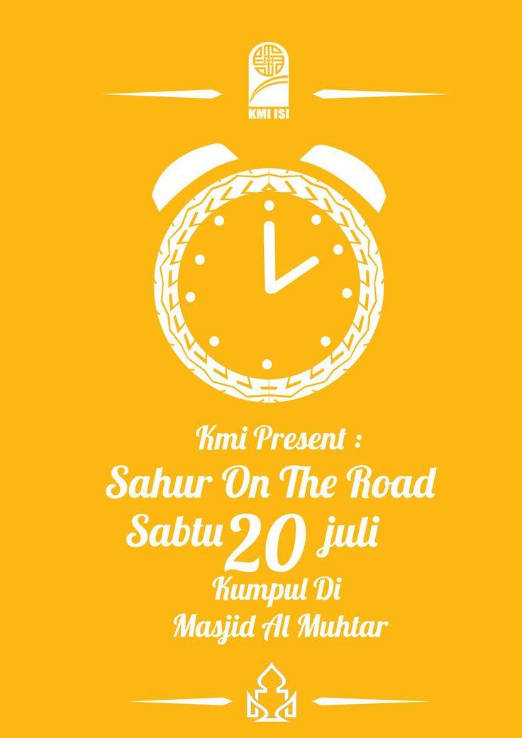 Poster Sahur bareng :3