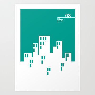 03_WEBDINGS_c Art Print by Iris & Floss - $18.00