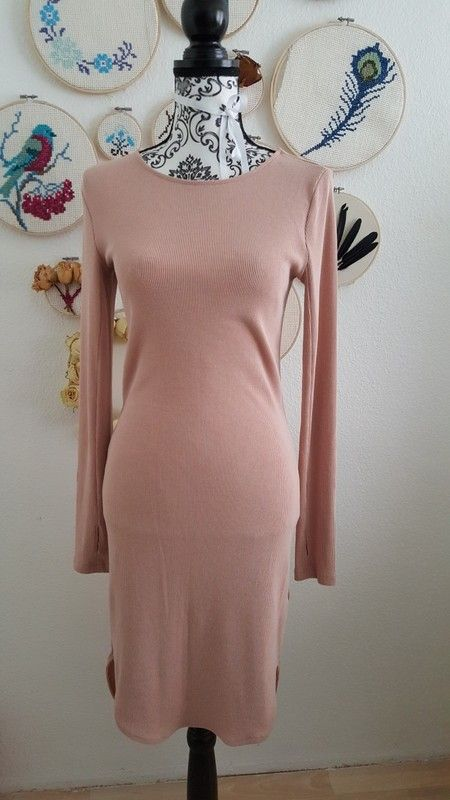 Pinkes kleid von h&m