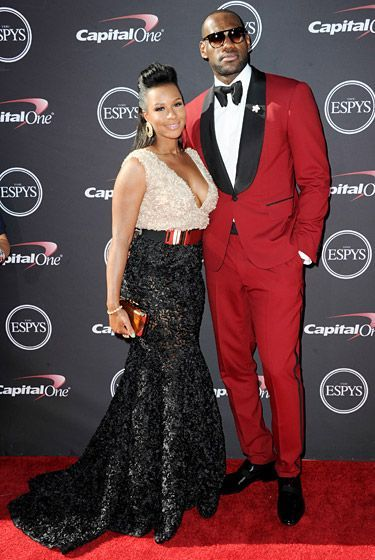 2013 ESPY Red Carpet: LeBron James