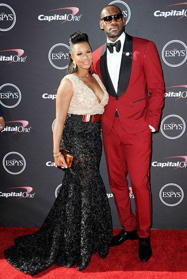 2013 ESPY Red Carpet: LeBron James