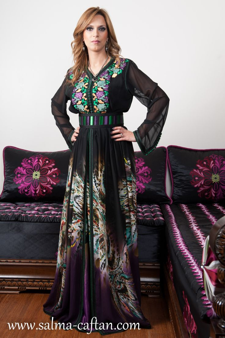 6968 best caftans 3016 images on pinterest for Caftan avec satin de chaise