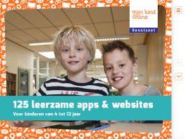 Nieuwe brochure: 125 leerzame apps & websites | Mijn Kind Online