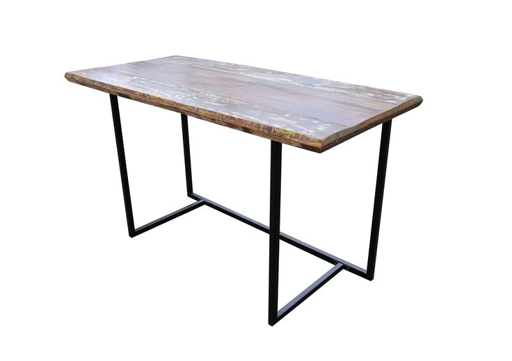 INDUSTRIAL RECLAIMED WOOD DESK Dimensions 52quot x 30quot x 24  : e1c85b4b7e444447c3ab46897dd2f756 reclaimed wood dining table wood dining tables from www.pinterest.com size 736 x 520 jpeg 20kB