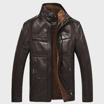 LIMITED TIME OFFER 2016 #New #Men's #Winter #Leather #Jackets Solid Thick #Coat #Male #Thermal #Fleece #Casual #Overcoat Stand Collar #Brand #Clothing  Outerwear Type:Leather & #Suede Closure Type:Zipper Material:#PU #Faux Leather #Fabric Type:#Woven Sleeve Length:Full #Lining Material:#Polyester / #Cotton #Decoration:Zippers #Size:MLXLXXLXXXL XXXXL5XL Color:Black Coffee Dark Coffee Style:Man Leather Jacket Color Style:Natural Color Cuff Style:Conventional