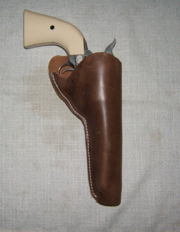 Colt's Peacemaker traditional John Wayne style Holster