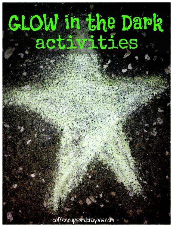 25 Glow in the Dark Kids Activities