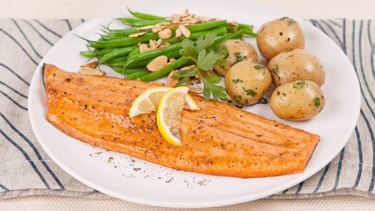 The flavours of tart mustard and sweet apple combine into the perfect brushing sauce for the fish.