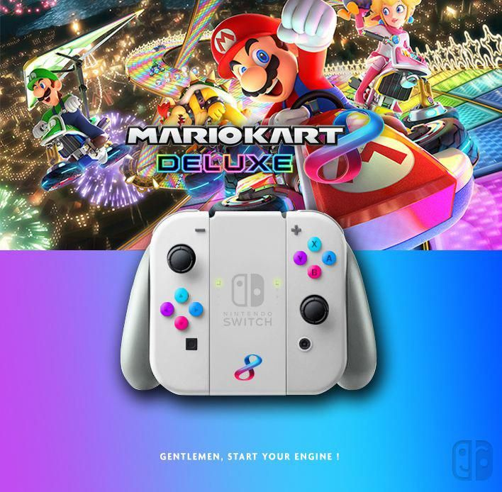Nintendo Mario Kart 8 Deluxe Collector Edition Joycon Nintendo Switch Dock Joy Con Nintendogirls Nintendo Switch Accessories Nintendo Mario Kart 8