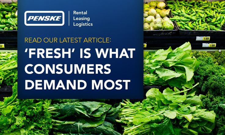 Cold Chain Delays Can Cost You in the Food Business but Penske Logistics Can Help. #supplychain #foodbiz #trucking #logistics #coldchain #Penske