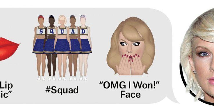 Ariana Grande : Foto de Ariana Grande e le altre celebrity protagoniste delle nuove emoji! (Foto) - Ariana Grande e le altre celebrity protagoniste delle nuove emoji! - taylor swift emoji - media...