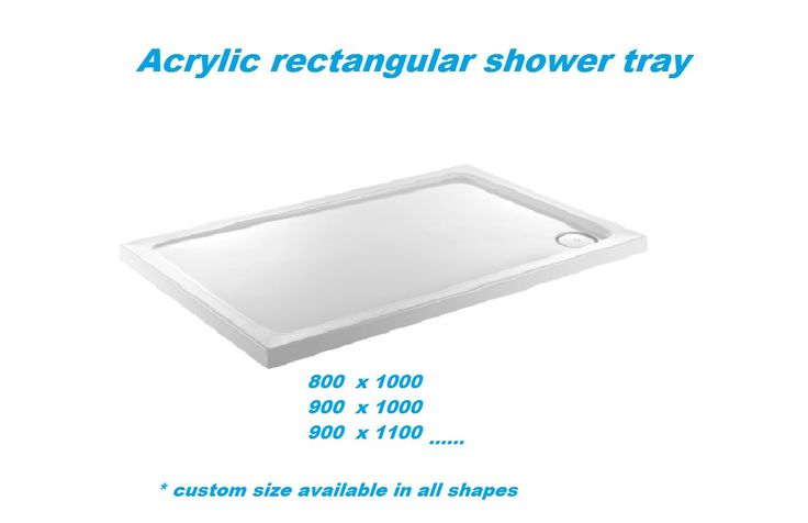 Rectangular Shower Trays: Rectangular Shower Trays at Better Bathrooms. The #showertrays section offers an array of #Rectangular shower trays explore the entire product set now. Custom size also available in all shapes.