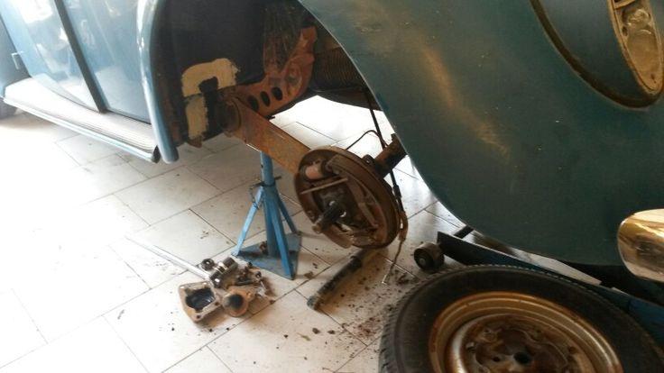 Rear suspension upgrade