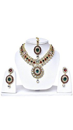 Stunning Indian Bollywood Gold Plated Red & Green Stone W... https://www.amazon.com/dp/B072B8XB47/ref=cm_sw_r_pi_dp_x_mkXazbXZPV36H