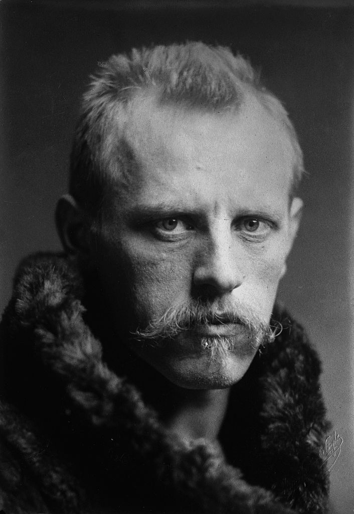 Fridtjof Nansen was a Norwegian explorer, scientist, diplomat, humanitarian and Nobel Peace Prize laureate. He led the team that made the first crossing of the Greenland interior in 1888, and reaching a record northern latitude of 86°14′ during his North Pole expedition of 1893–96. The crossing had been accomplished in 49 days, throughout the journey the team had maintained careful meteorological, geographical and other records relating to the previously unexplored interior