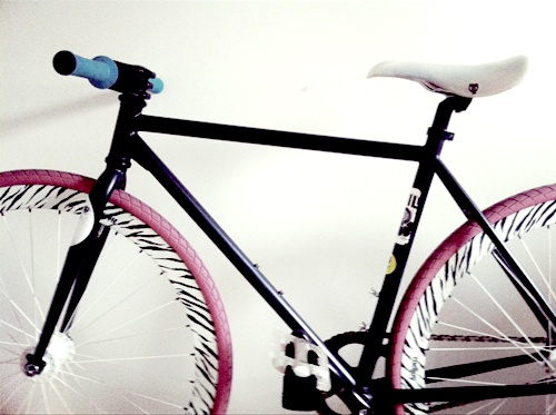 My home made bike. By far my proudest work.