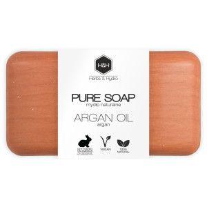 naturalne mydło z olejem arganowym