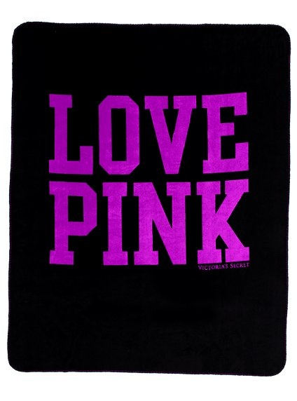 VS PINK Stadium blanket perfect for games or cuddling up by the fire.