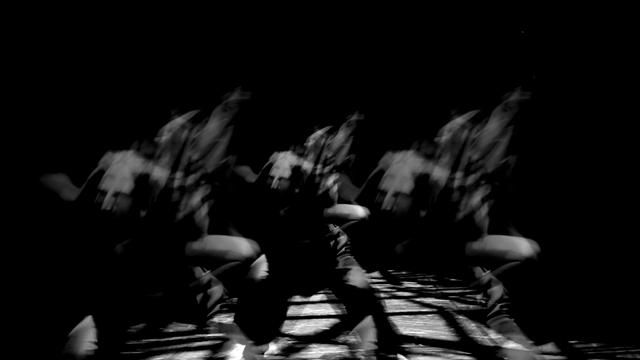"""This is the video content which was projected behind the """"ritual dance"""" on to a grid like structure for Synetic Theater's original production of """"Home of the Soldier."""" The initial inspiration came from Ruth Hogben's awesome fashion videos for Gareth Pugh's collections."""