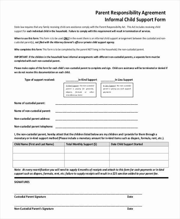 Child Support Agreement Template Awesome 10 Child Support Agreement Templates Pdf Doc Custody Agreement Child Support Supportive